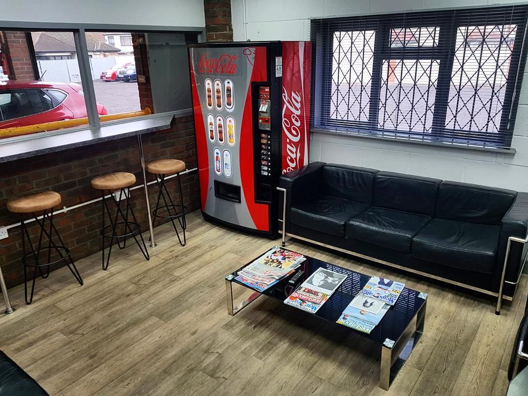 Car Wash Club UK Customer Lounge