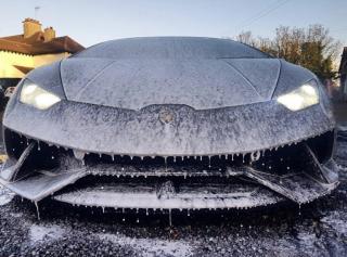 Black Lamborghini Snow Foam Pre-Wash