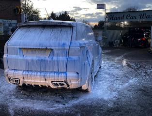 Range Rover SVR Snow Foam Pre-Wash