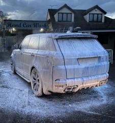 Range Rover Sport Snow Foam Wash
