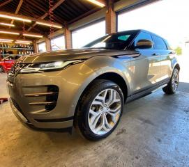 Metallic Grey Range Rover Velar after Gold Club Wash