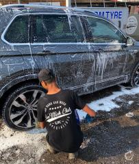Volkswagen Tiguan Silver Hand Car Wash